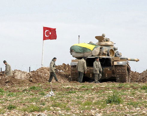 تركيا تستعد لعملية برية على الحدود السورية