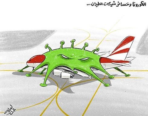 الكورونا وخسائر شركات الطيران…