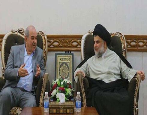 الصدر وعلاوي يبحثان تشكيل الحكومة العراقية الجديدة