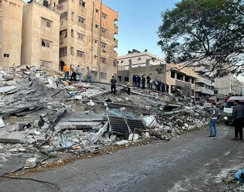 ثمانية شهداء في تجدد العدوان على غزة وقصف منازل ومكاتب قادة في حماس