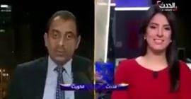 بالفيديو.. محلل سياسي ينام على الهواء مباشرة