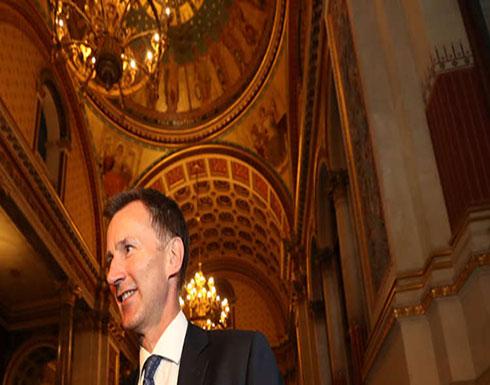 أول تصريح لوزير الخارجية البريطاني الجديد