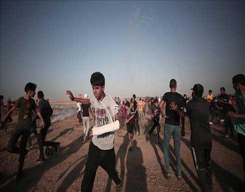 حدود غزة.. الجيش الإسرائيلي يصيب 18 متظاهرا فلسطينيا
