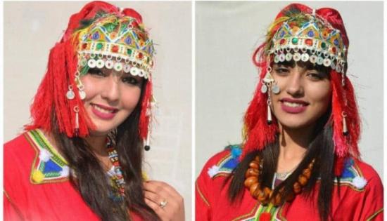 بالصور والفيديو: جميلات المغرب يتنافسن لنيل لقب ملكة جمال أمازيغ