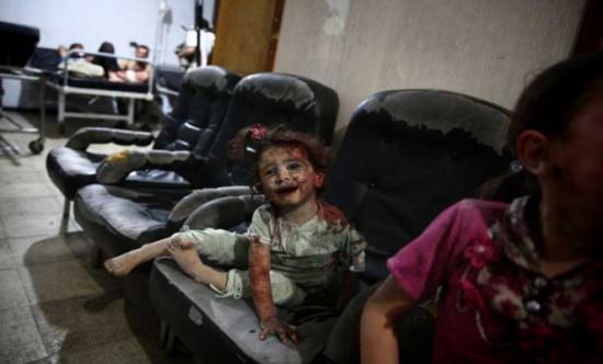 اليونيسيف: نصف مليون طفل تحت الحصار في سوريا