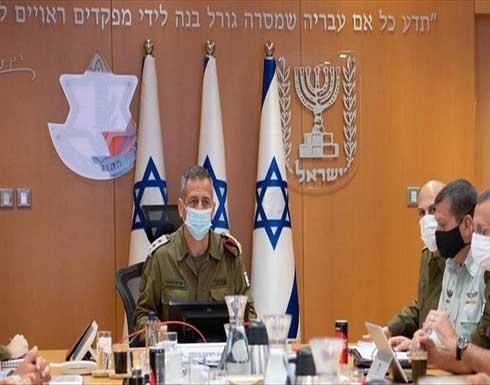 قائد الجيش الإسرائيلي لا يستبعد شن هجوم على غزة أو جنين