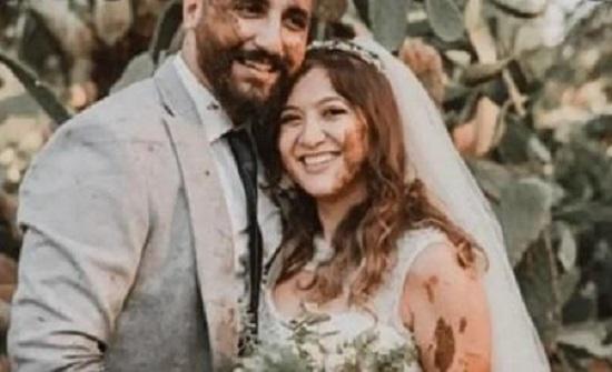 جلسة تصوير عروسين تثير ضجة في مصر
