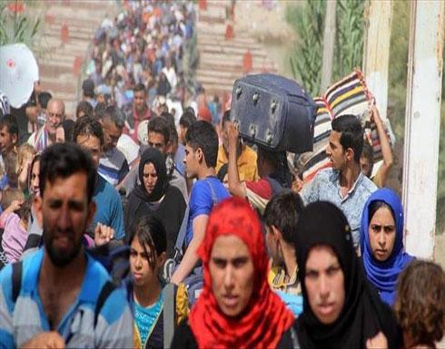 نزوح أكثر من 5 آلاف عائلة بسبب هجمات النظام في إدلب