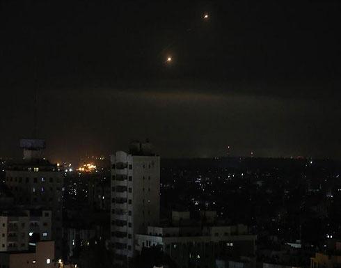 إصابة 4 فلسطينيين في الغارات الإسرائيلية على غزة