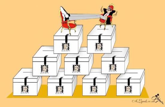 مرشح واحد لانتخابات مصر!