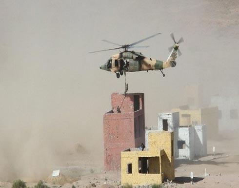 """انطلاق التمرين العسكري السعودي الأردني """"اليرموك 2"""""""