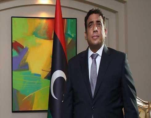 ليبيا.. المنفي يتسلم أوراق اعتماد سفيري البحرين والبرتغال