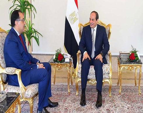 السيسي يكلف مصطفى مدبولي بتشكيل الحكومة المصرية