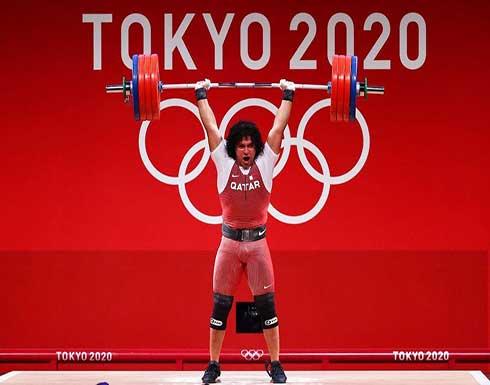 رباع قطري يهدي بلاده أول ميدالية ذهبية