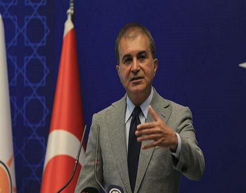 المتحدث باسم حزب أردوغان: تركيا تضع خطوطا حمراء لماكرون في شرق المتوسط