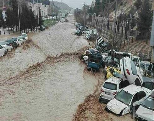 الفيضانات تظهر خلافات إيران الداخلية.. وروحاني يتعهد بإصلاح الضرر