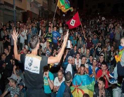 """آلاف المغاربة يتظاهرون للمطالبة بإطلاق سراح نشطاء """"حراك الريف"""""""
