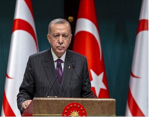 أردوغان: لن نسمح باستمرار الظلم الواقع على شعب قبرص التركية