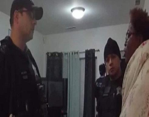 القبض على امريكية عارية بالخطأ من داخل منزلها والمحكمة تتدخل .. شاهد