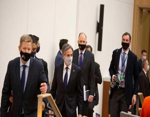 بلينكن يبحث مع وزير الخارجية الإيطالي الصين وأفغانستان ليبيا