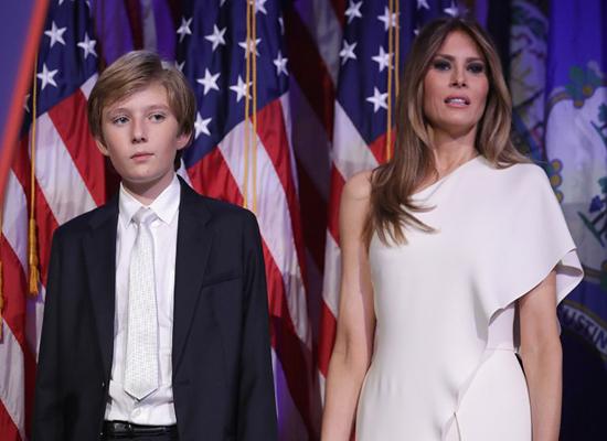 """تعرف على إبن ترامب الصغير """" بارون """""""