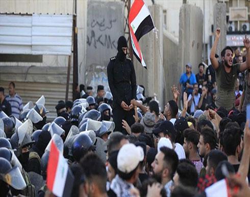 العراق ..المئات يبدأون اعتصاما مفتوحا أمام حقل نفطي تديره شركة روسية