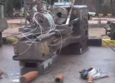 شاهد فيديو.. أسلحة إسرائيلية في دير الزور السورية!