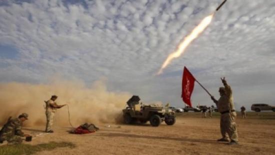 ميليشيا الحشد تعلن استخدامها صواريخ اهتزازية في قصف مناطق بالموصل
