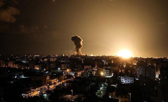 الاحتلال يقصف غزة