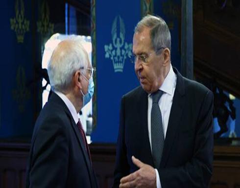 لافروف لبوريل: انعدام الأجواء الطبيعية أكبر مشكلة في العلاقات بين روسيا وأوروبا