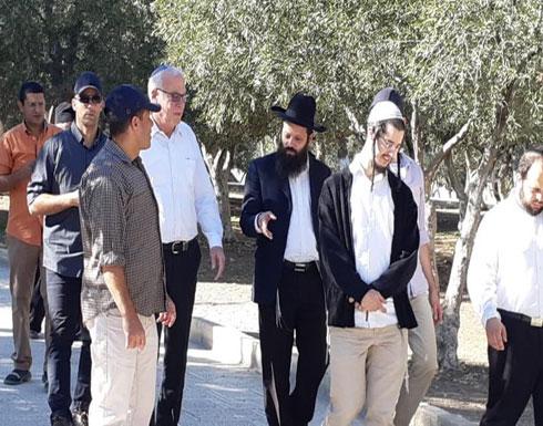 وزير وعشرات المستوطنين اليهود يقتحمون الأقصى
