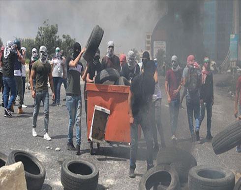 إصابة فلسطيني بجروح خطيرة إثر مواجهات مع الجيش الإسرائيلي بالضفة