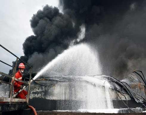 شاهد : مقتل 41 شخصا في حريق بأحد السجون في إندونيسيا