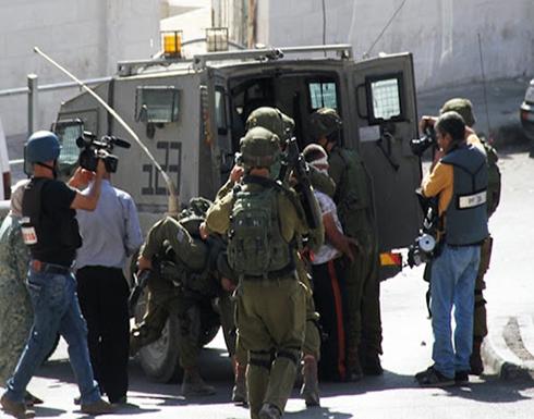 قوات الاحتلال تعتقل 15 مواطن من رام الله والقدس بينهم نواب من حماس