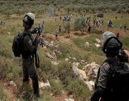 مواجهات بين فلسطينيين والجيش الإسرائيلي جنوبي الضفة