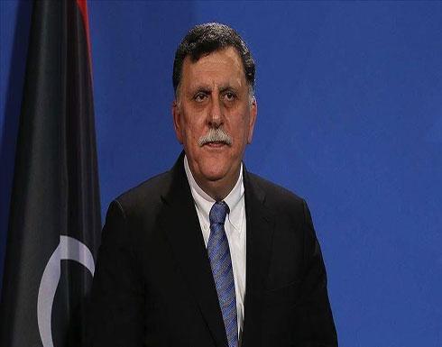 """ليبيا.. السراج يبحث مع قائد """"أفريكوم"""" التنسيق لمحاربة الإرهاب"""