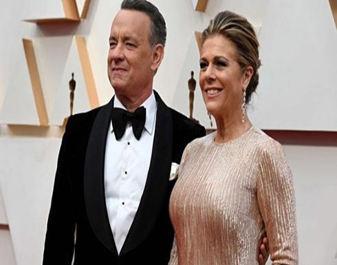 توم هانكس وزوجته يغادران المستشفى بعد العلاج من فيروس كورونا