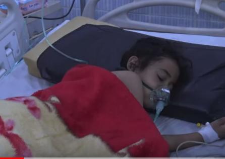 شاهد .. إصابات بمرض الخناق في المناطق الواقعة تحت سيطرة الحوثيين