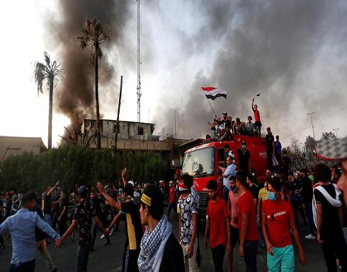 3 صواريخ على مطار البصرة.. وإقالة قائد الشرطة