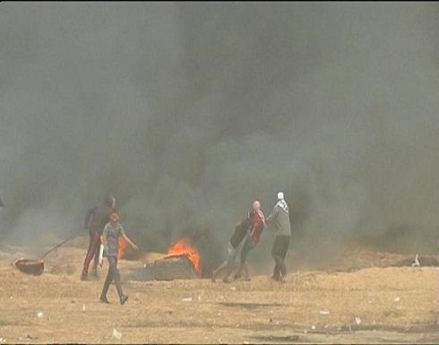 وفاة فلسطيني أصابه رصاص الاحتلال بمواجهات غزة