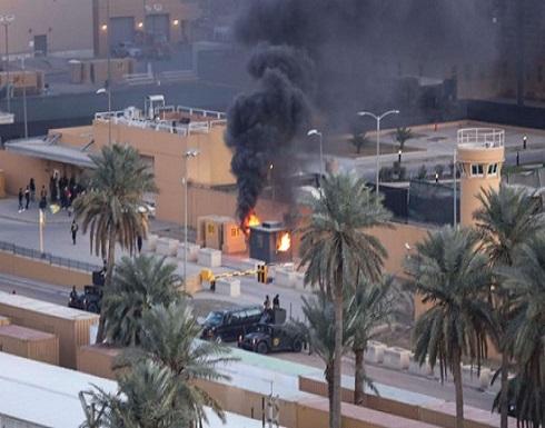 الهجمات الصاروخية على السفارة الأمريكية في بغداد.. فصائل شيعية تتمرد على أوامر إيران