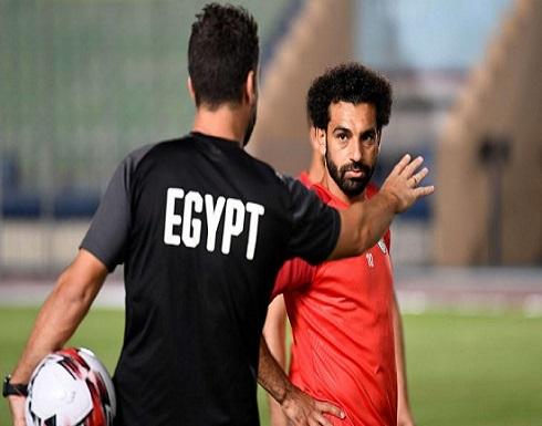 صلاح يوجه رسالة إلى مدرب المنتخب المصري بعد إقالته