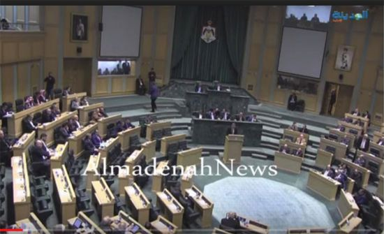 الحكومة الاردنية تحصل على ثقة النواب