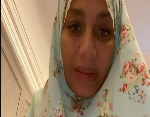بالفيديو.. بسمة وهبة بثياب الصلاة في اول ظهور بعد العملية الجراحية