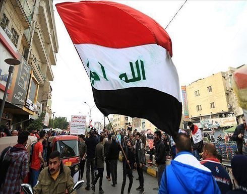 شاهد : إصابة 5 متظاهرين في مواجهات مع قوات الأمن جنوبي العراق
