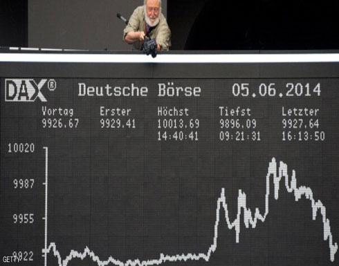 """""""ترامب"""" يهبط بالأسهم الأوروبية"""