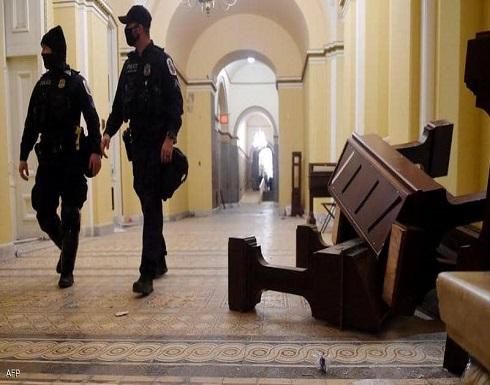 شرطة أميركا: العبوات المكتشفة بمحيط الكونغرس مصنعة منزليا