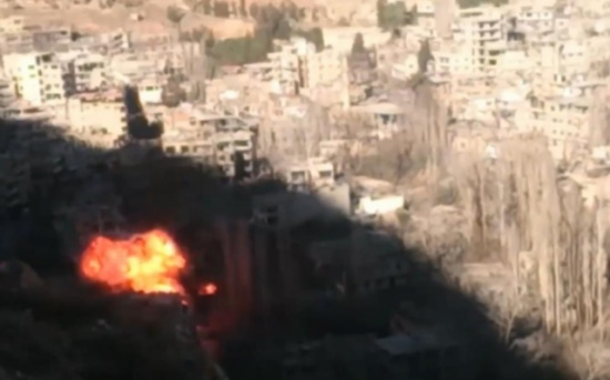المعارضة السورية تدعو لتدخل دولي ينقذ وادي بردى