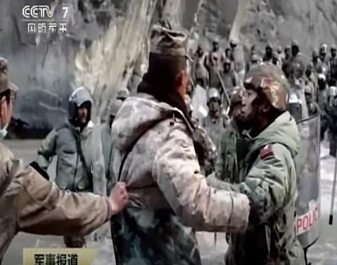شاهد : الصين تنشر مشاهد اشتباك حدودي دموي مع القوات الهندية