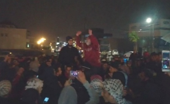 وقفة احتجاجية في الكرك تطالب باسقاط الحكومة